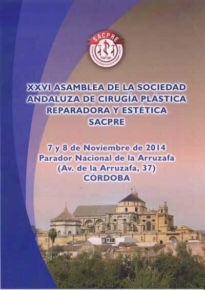 XXVI Asamblea de Sacpre Dr. Leopoldo Cagigal - Cirugía plástica y estética 1